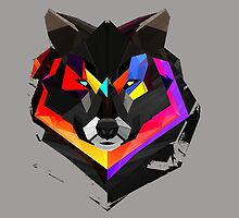 Abstract Wolf  by Emme&Elle Italy