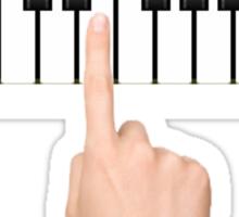 single hand Sticker