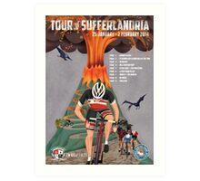 Tour of Sufferlandria 2014 Art Print