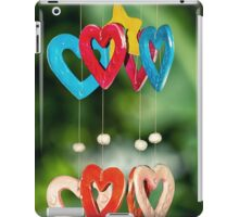 wooden hearts iPad Case/Skin