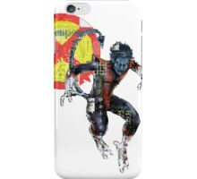 NightCrawler Gridwork design & logo iPhone Case/Skin