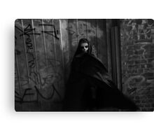 Deathly Reminder III Canvas Print