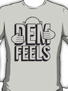 Dem Feels Funny Geek Nerd T-Shirt