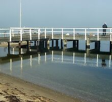 Reflections - Werribee Sth. Beach -Vic. by EdsMum