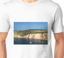 Alum Bay and the Coloured Sand Cliffs Unisex T-Shirt
