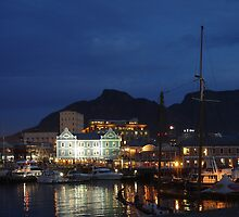 Capetown by night by Paige