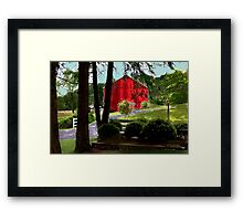 Compton House Barn Framed Print