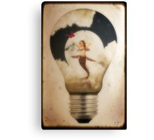 Sweet Dreams...The Real Man's Nightlight Canvas Print