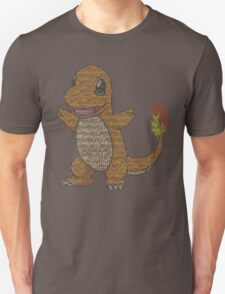 Charmander Typography T-Shirt