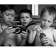 The Boyz at Moodus Photographic Print