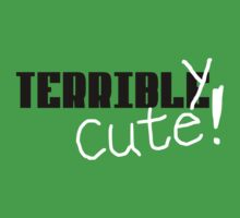 Terribly Cute - Black/White Kids Clothes