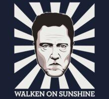 Walken on Sunshine - Christopher Walken (Dark Shirt Version) One Piece - Long Sleeve