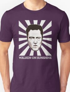 Walken on Sunshine - Christopher Walken (Dark Shirt Version) T-Shirt