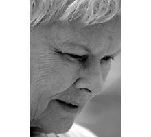 Dame Judi Dench Photographic Print