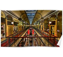 Adelaide Arcade HDR Poster