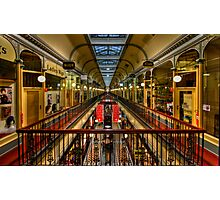 Adelaide Arcade HDR Photographic Print