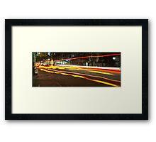 On The Street  Framed Print
