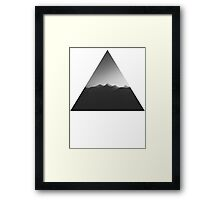 Mountains of Joy Division  Framed Print