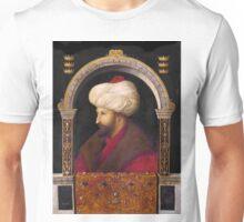 Fatih Sultan Mehmed II, attr. Gentile Bellini, 1480 Unisex T-Shirt