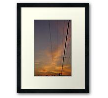 High Powered Framed Print