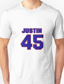 National baseball player Justin Duchscherer jersey 45 T-Shirt