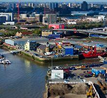London's Working Docks by Carolyn Eaton