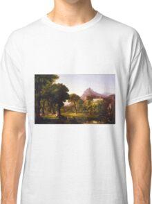 Thomas Cole – Denver Art Museum 1954.71. Dream of Arcadia (c. 1838) Classic T-Shirt