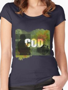 COD Crazy Women's Fitted Scoop T-Shirt