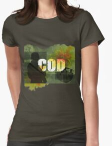 COD Crazy Womens Fitted T-Shirt