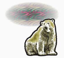 Polar Bear Midnight Sun One Piece - Short Sleeve