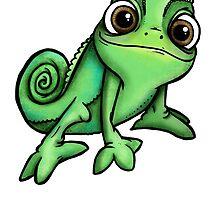 Pascal - Chameleon Rapunzel  by HungryDesigns