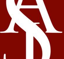 ASL Logo Emblem Sticker