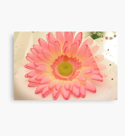 Wedding Cake Flower Canvas Print