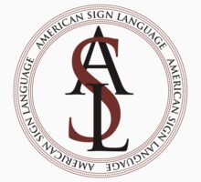 American Sign Language Logo by Zehda