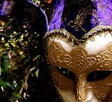 Mardi Gra Mask by Jill Sprague