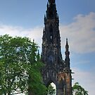 Scott Monument by Tom Gomez
