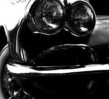 Black White Vette by Jill Sprague
