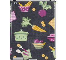 Cooking Veggie Pattern iPad Case/Skin