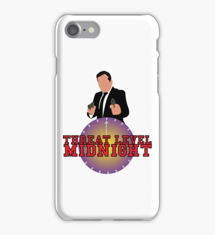 Threat Level Midnight iPhone Case/Skin