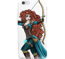 Steampunk Merida - Brave iPhone Case/Skin