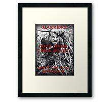 Floki - Quote Framed Print