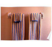 Bathroom Towels Poster