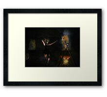 Summon Framed Print