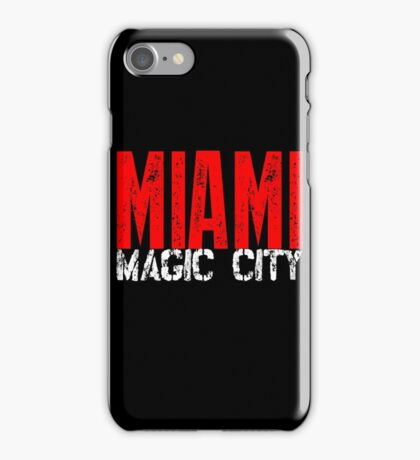 Miami Magic City 305 Wynwood South Beach iPhone Case/Skin