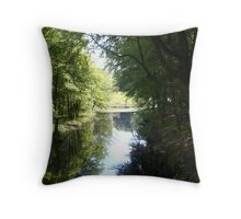A Lazy Sunday afternoon in the summertime Throw Pillow