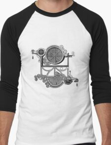 Daily Grind Machine Men's Baseball ¾ T-Shirt