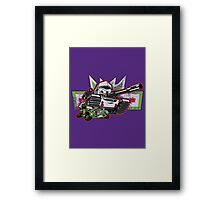 Peace Through Tyranny Framed Print