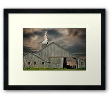 Country With Character Framed Print