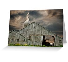 Country With Character Greeting Card