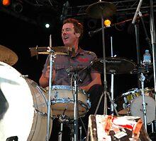 Rob Hirst - Drummer, @ Jazz & Blues Festival by muz2142